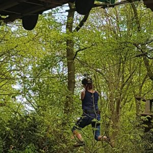 Klimmen bij fun forest Venlo Lisette Schrijft