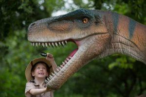 Dino tentoonstelling Jurassic Kingdom Lisette Schrijft