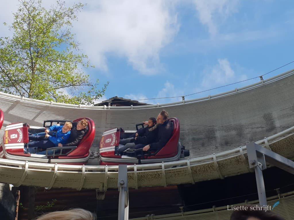 De Zwitserse bobsleebaan in Europa-Park