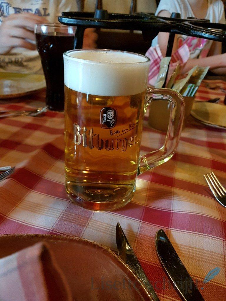 een grote pul bier in duitsland