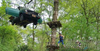 Klimmen bij Fun Forest: grenzen verleggen op grote hoogte