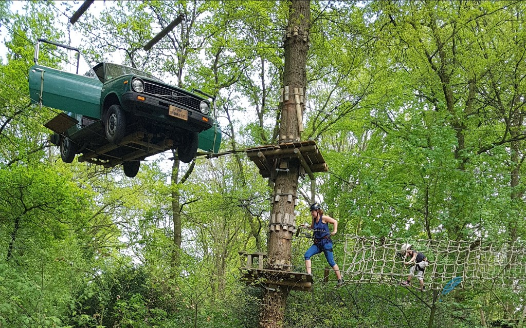 klimmen bij Fun Forest in Rotterdam Venlo Amsterdam of Almere Lisette Schrijft