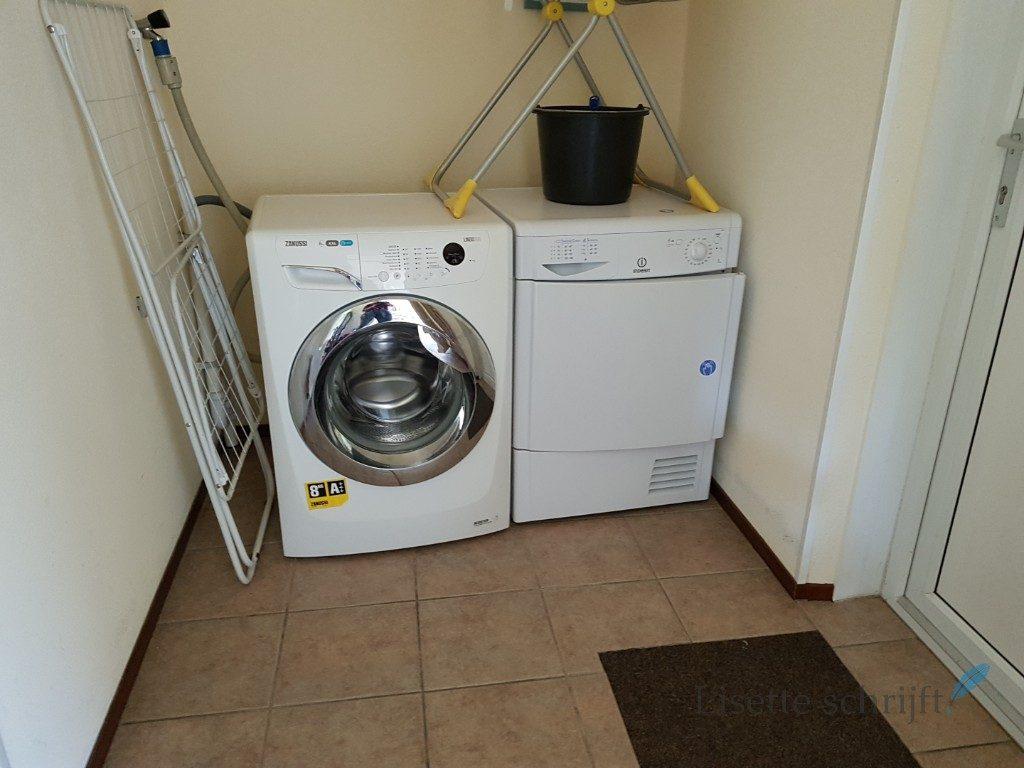 Roompot huisje met wasmachine Lisette Schrijft