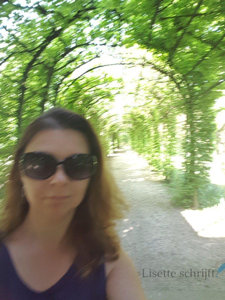de loofgang in de kasteeltuinen een bewogen foto Lisette Schrijft