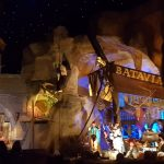 Brand in Piraten von Batavia, deel Europa-Park verwoest