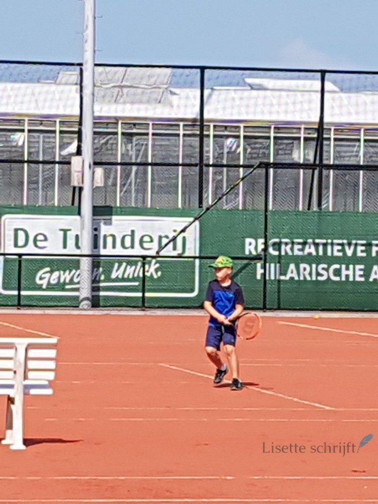 tennis voor kinderen Lisette Schrijft