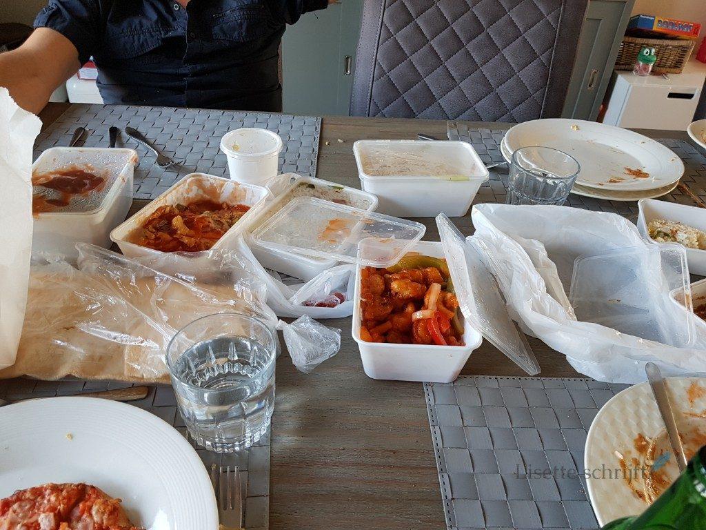 we eten chinees Lisette Schrijft
