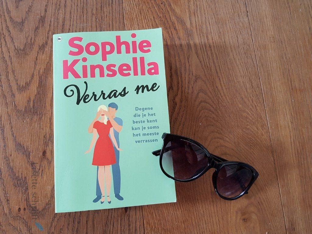 verras me sophie kinsella boek chicklit Lisette Schrijft