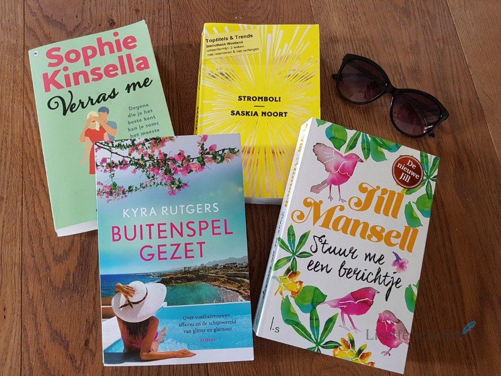 de leukste boeken voor deze zomer 2018 Lisette Schrijft