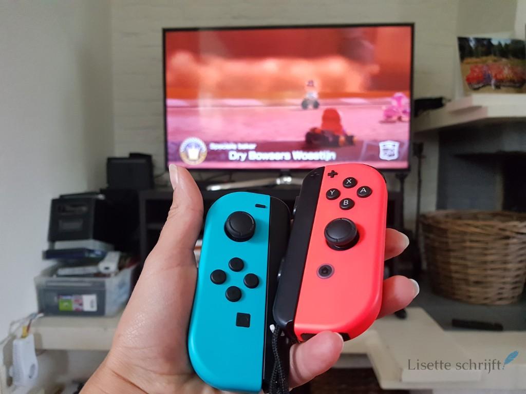 Lisette test de Nintendo Switch uit Lisette Schrijft