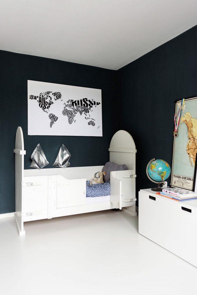 wereldkaart voor aan de muur lisette schrijft