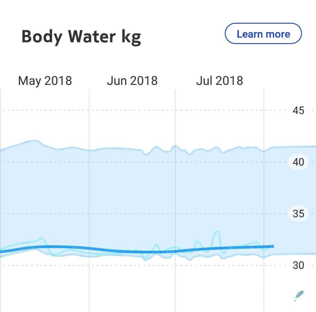 lichaam meet waterpercentage in je lijf lisette schrijft