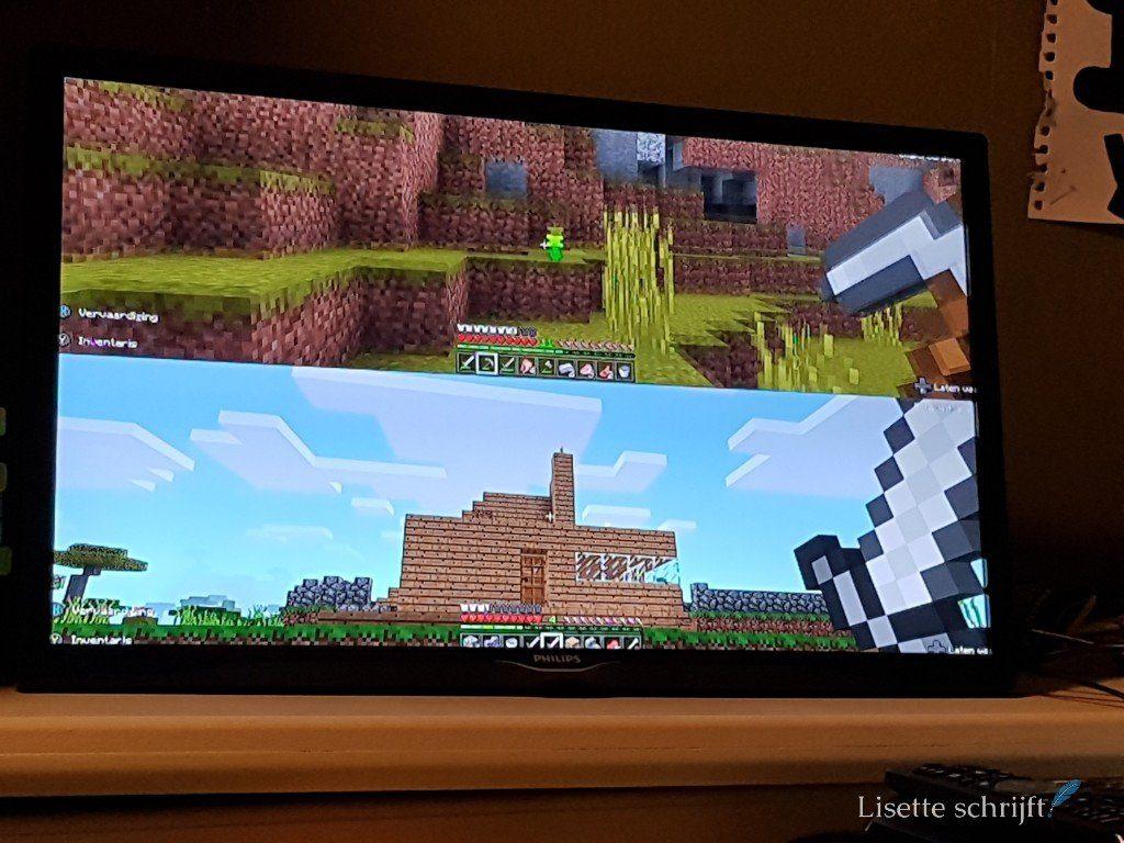 een huis bouwen in minecraft Lisette Schrijft