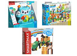 genomineerd voor speelgoed van het jaar 0 - 3 jaar Lisette Schrijft