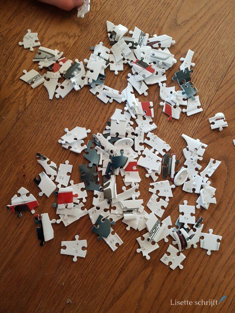 3D-puzzel Lisette Schrijft