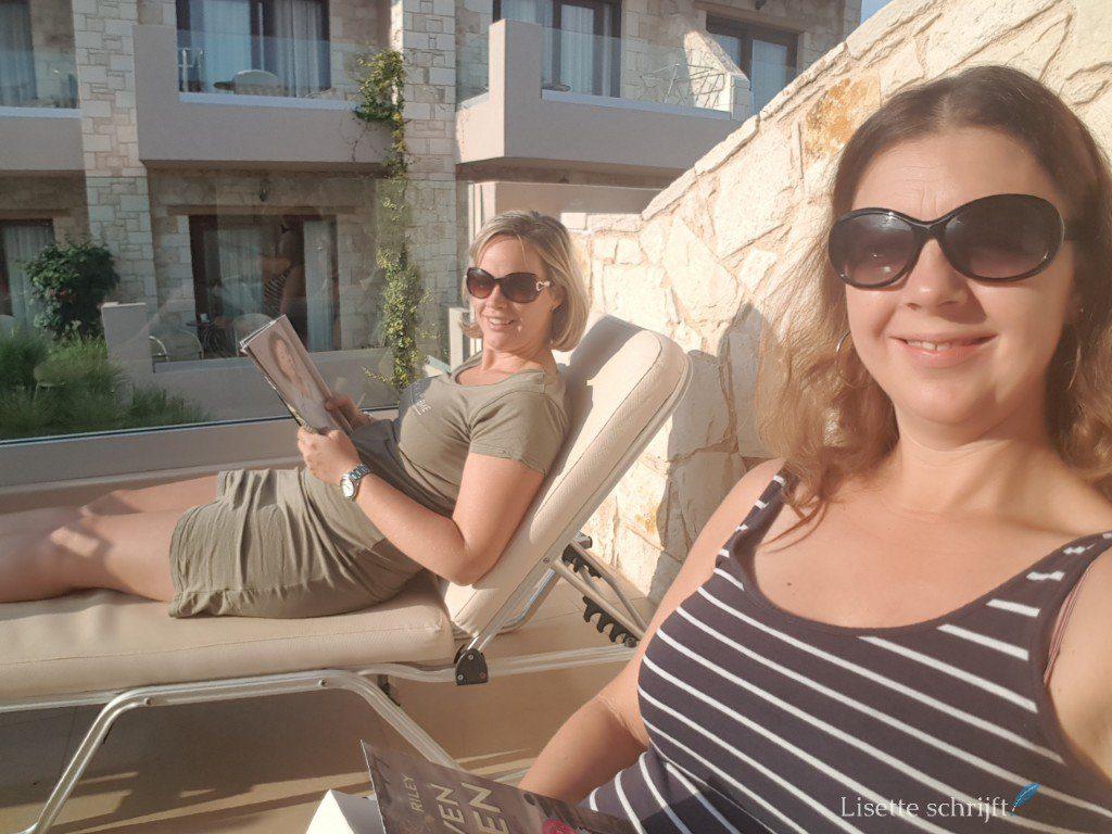 Er even tussenuit op vakantie Lisette Schrijft