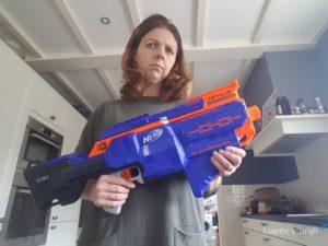 win een Nerf N-strike Elite Infinus Lisette Schrijft