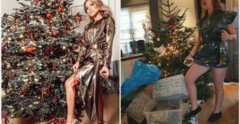Hij staat! De kerstboom van Sylvie en Lieve Syl 2018