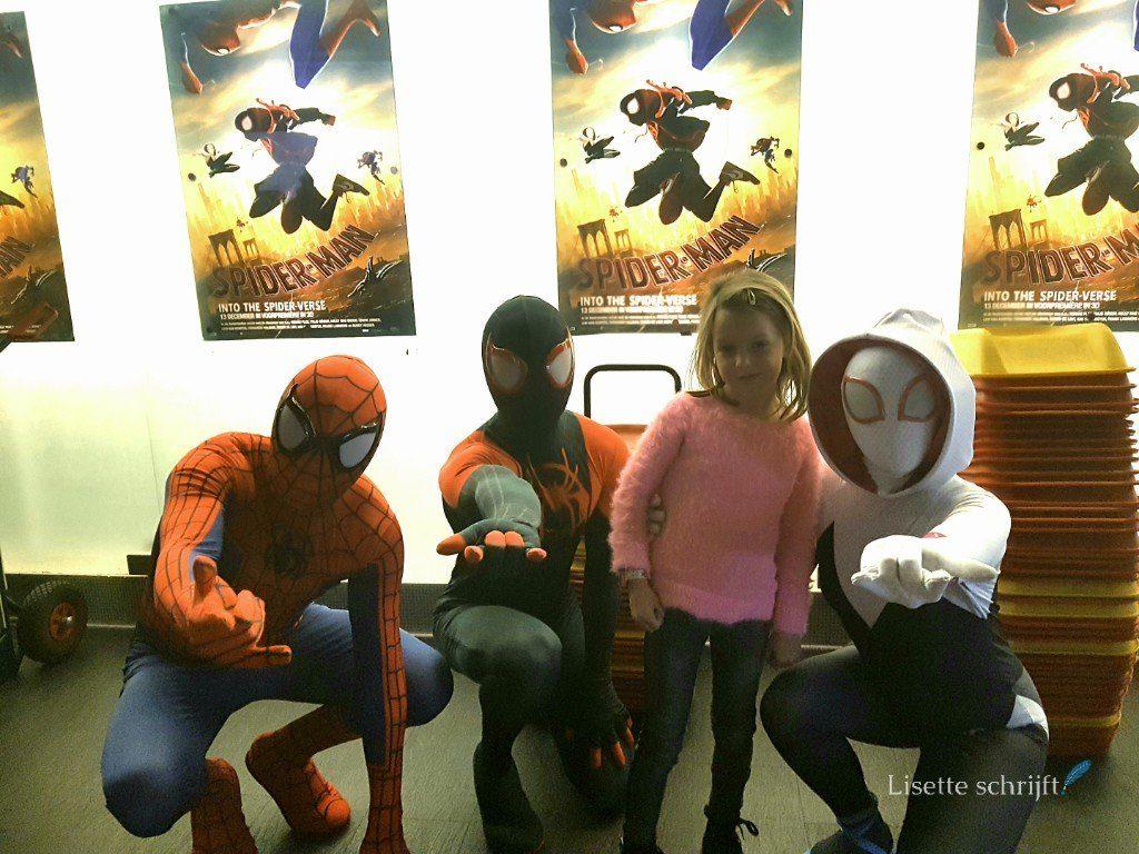 spidermanfilm lisette schrijft