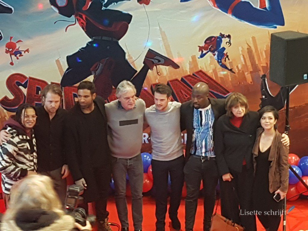 Spider-Man into the spider-verse premiere lisette schrijft