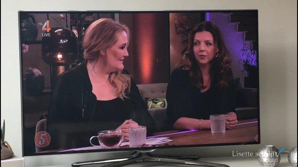 Lisette en Hannelore Zwitserlood bij RTL 5 uur live