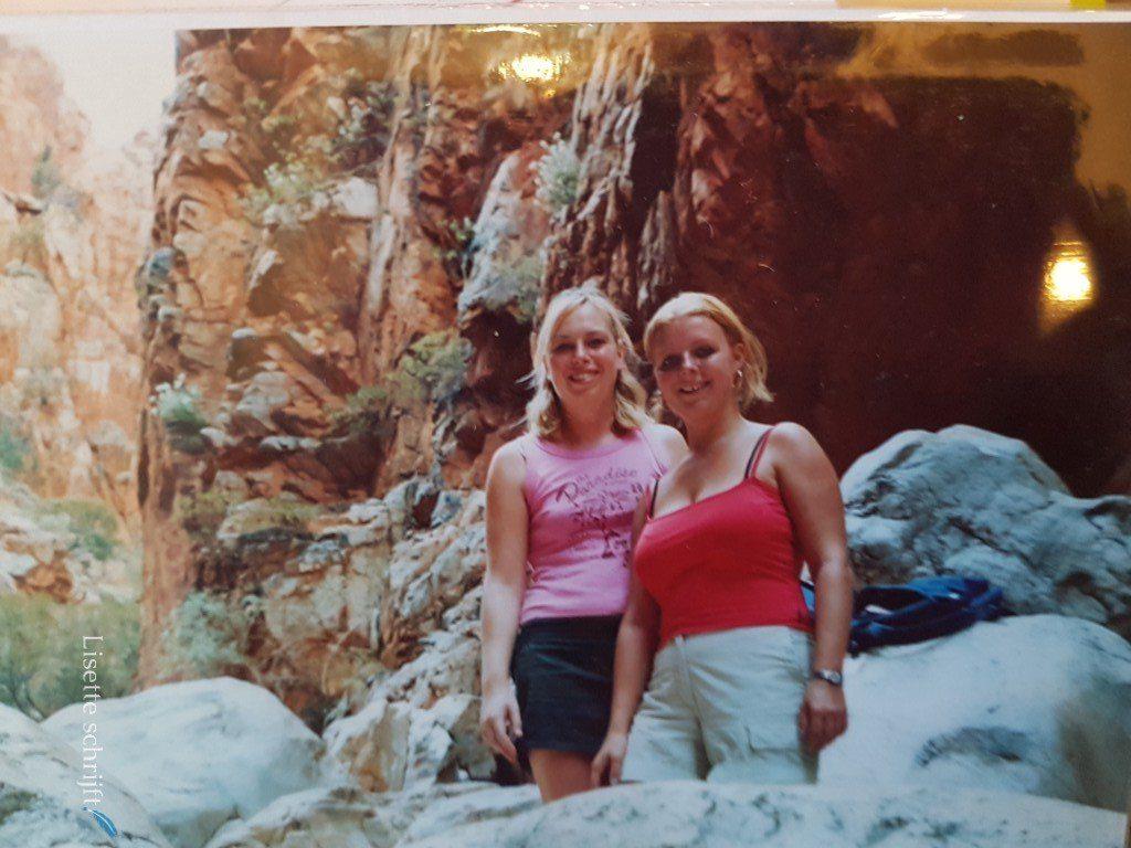 twee meisjes in Australië Lisette Schrijft