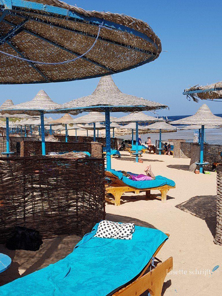 strandbedjes zijn inclusief bij hotel akassia