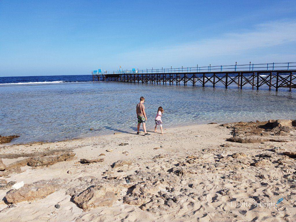 snorkelen kan bij hotel akassia vanaf de pier