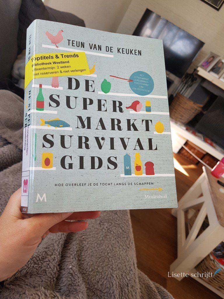 De supermarkt Survivalgids boek van Teun van de Keuken Lisette Schrijft