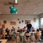 foto van de speeldag voor hoogbegaafde kinderen Lisette Schrijft