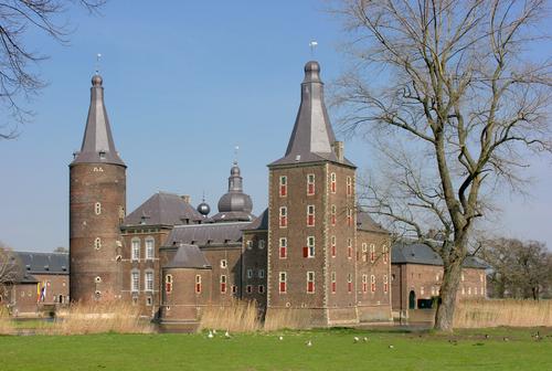 Kasteel Hoensbroek in Heerlen, Zuid-Limburg