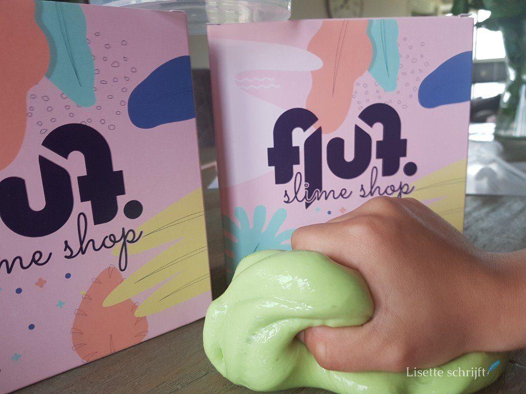 fluf slijm is veilig slijm in een handig pakketje