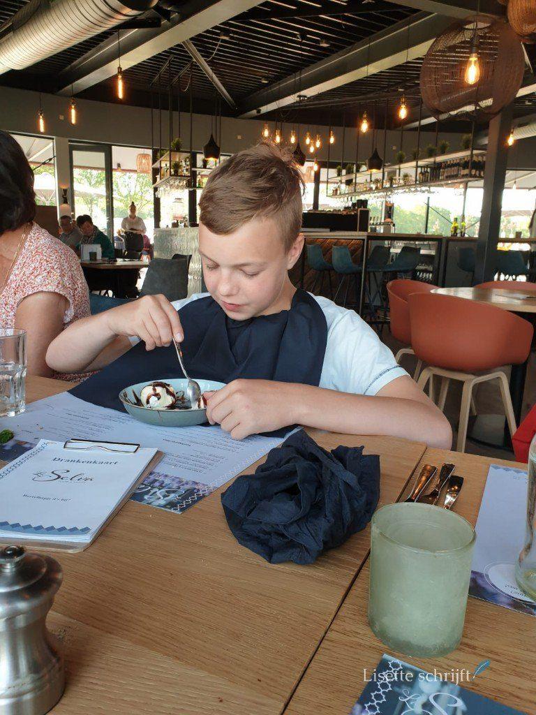 Familieweekend met familie uit eten bij La Selva Roggel