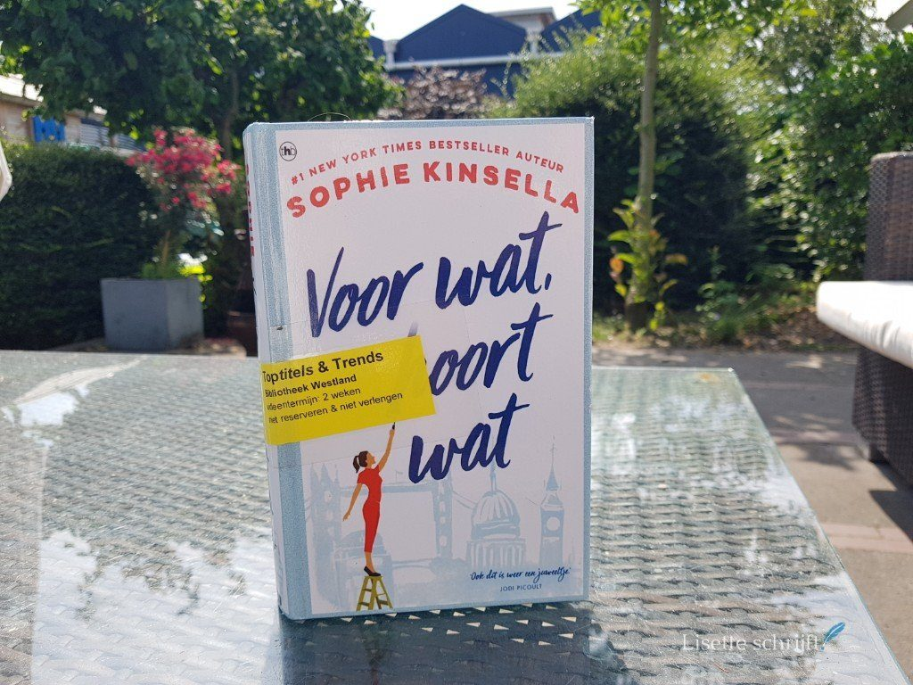 voor wat hoort wat het nieuwe zomerboek van Sophie Kinsella