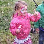 mijn dochter in haar schattige roze fase