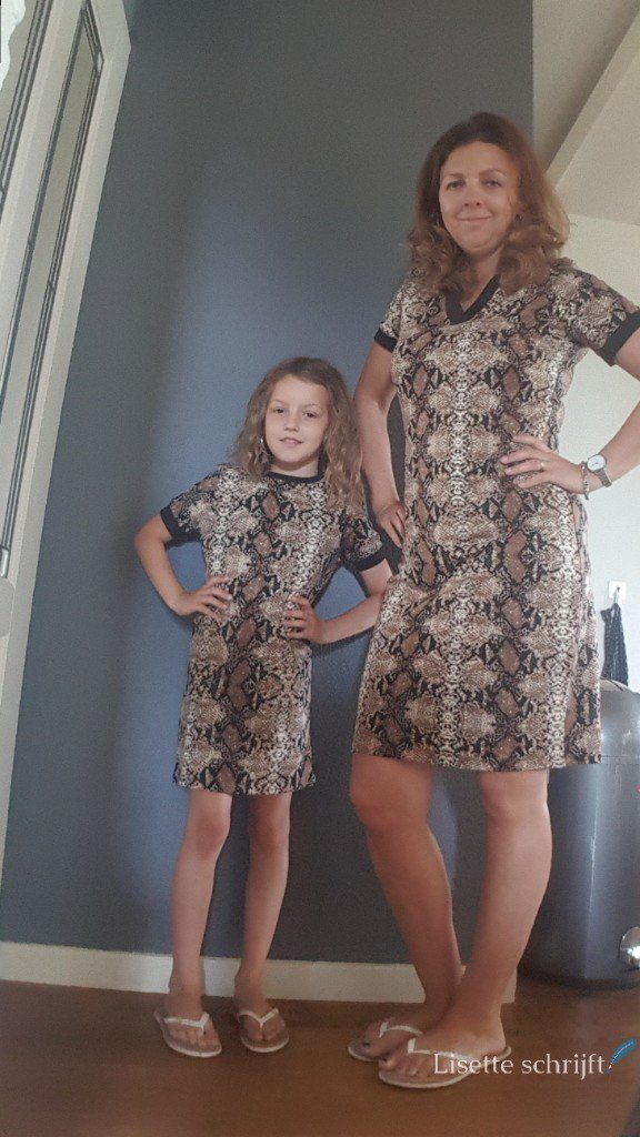 twinning outfit moeder en dochter
