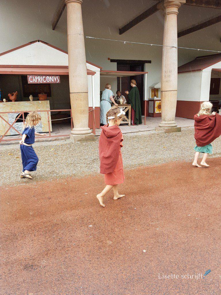 Romeins festival in het Archeon