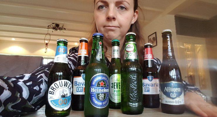 alcoholvrij bier getest door Lisette