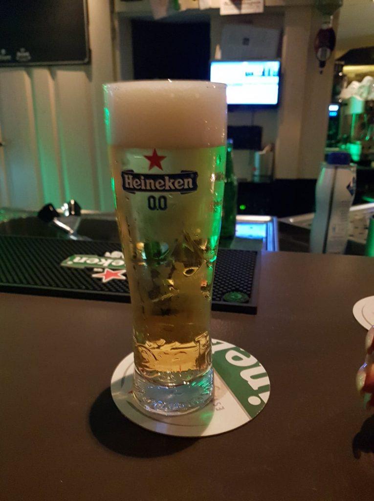 alcoholvrij bier heineken 0.0 van de tap