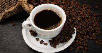 koffie van verse koffiebonen