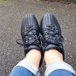 nieuwe sneakers zwart