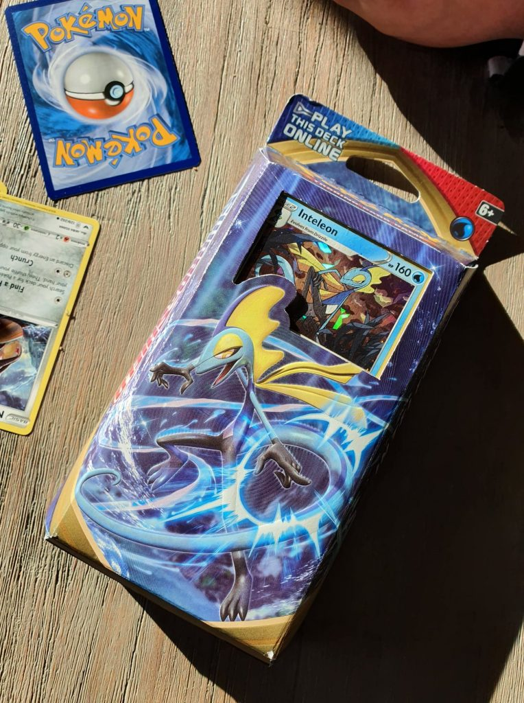 Pokemon Sword and Shield trading card game