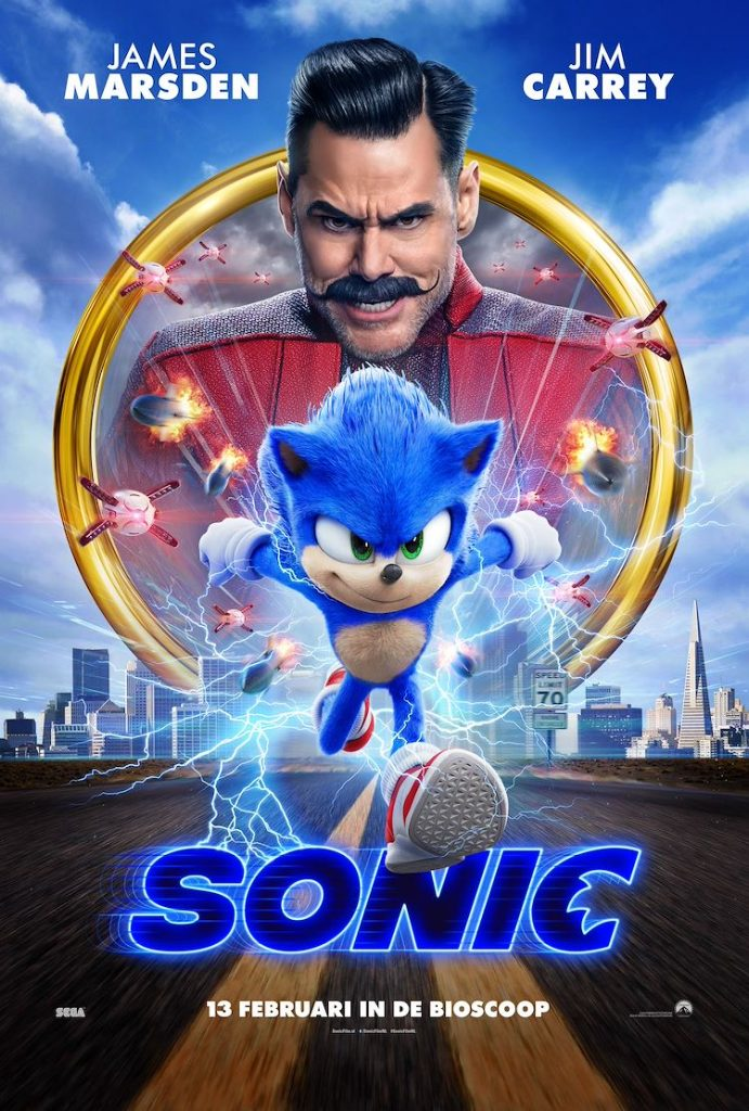 sonic film in de bioscoop