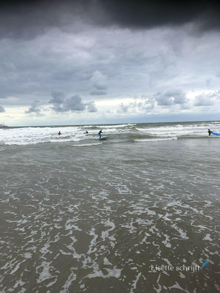 surfles met kinderen